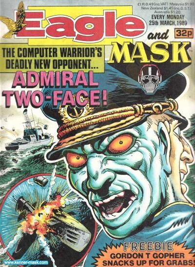 M.A.S.K. M.A.S.K. UK Eagle comic no. 366 - 25/03/1989