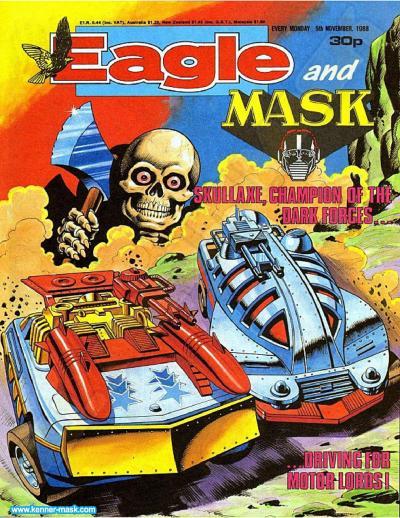 M.A.S.K. M.A.S.K. UK Eagle comic no. 346 - 05/11/1988