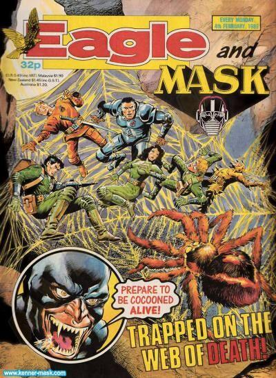 M.A.S.K. M.A.S.K. UK Eagle comic no. 359 - 04/02/1989