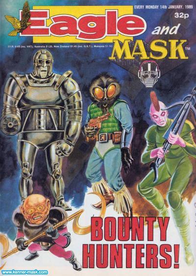 M.A.S.K. M.A.S.K. UK Eagle comic no. 356 - 14/01/1989