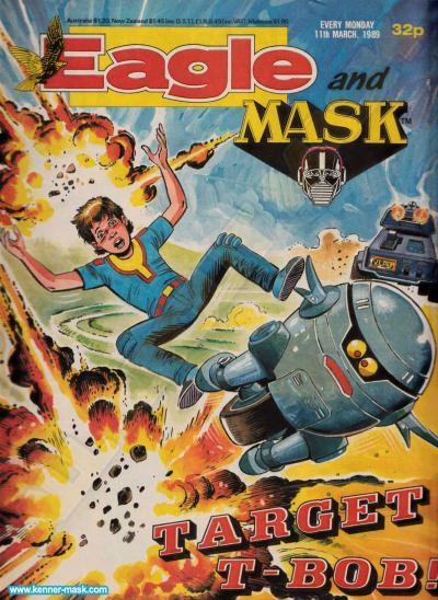 M.A.S.K. M.A.S.K. UK Eagle comic no. 364 - 11/03/1989