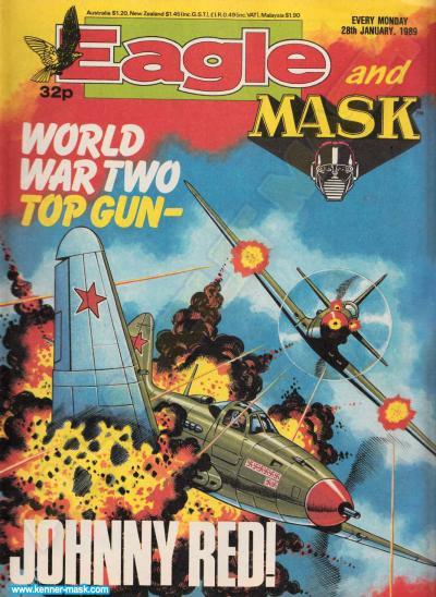 M.A.S.K. M.A.S.K. UK Eagle comic no. 358 - 28/01/1989