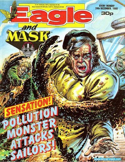 M.A.S.K. M.A.S.K. UK Eagle comic no. 353 - 24/12/1988
