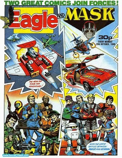 M.A.S.K. M.A.S.K. UK Eagle comic no. 345 - 29/10/1988