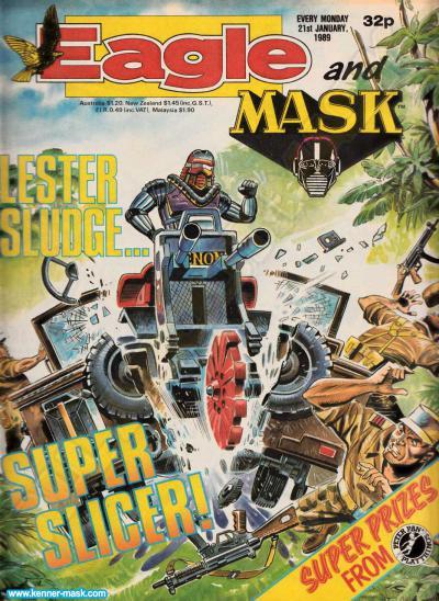 M.A.S.K. M.A.S.K. UK Eagle comic no. 357 - 21/01/1989