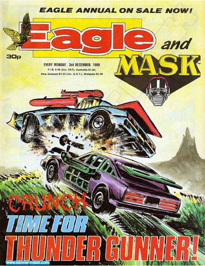 M.A.S.K. M.A.S.K. UK Eagle comic no. 350 - 02/12/1988