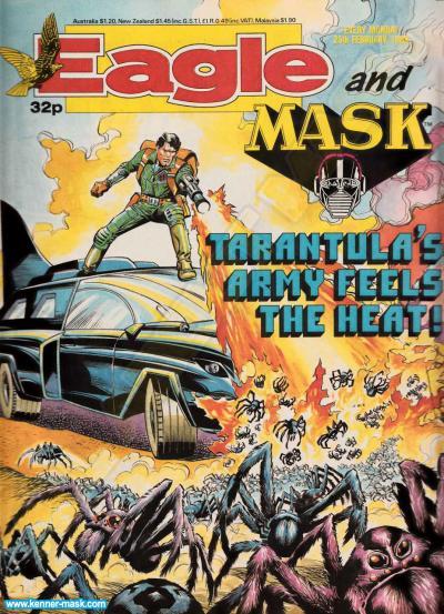 M.A.S.K. M.A.S.K. UK Eagle comic no. 362 - 25/02/1989