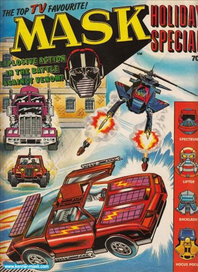 M.A.S.K. M.A.S.K. UK comic Holiday Special 1987