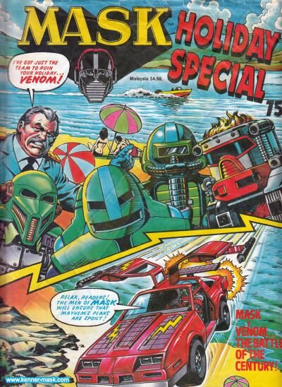 M.A.S.K. M.A.S.K. UK comic Holiday Special 1988