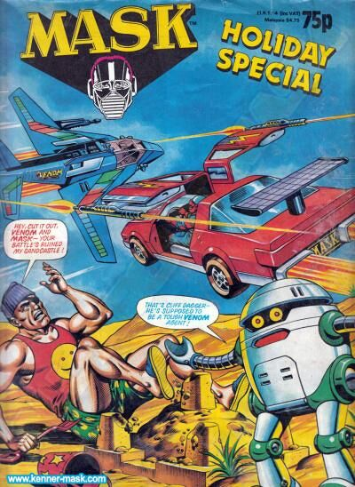 M.A.S.K. M.A.S.K. UK comic Holiday Special 1989