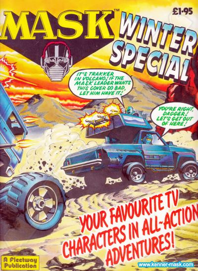 M.A.S.K. M.A.S.K. UK comic Winter Special 1987