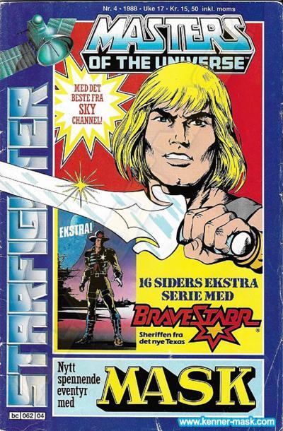 M.A.S.K. M.A.S.K. Norwegian Starfighter comic 1988 no. 4