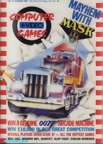 M.A.S.K. Computer + Videogames 08/1987