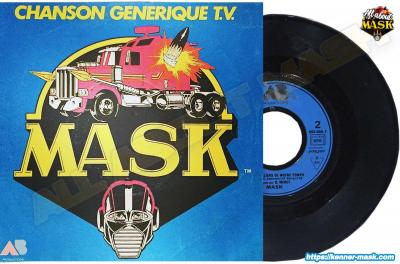 M.A.S.K. M.A.S.K. vinyl from France 2 episodes