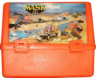 M.A.S.K. M.A.S.K. Lunchbox red