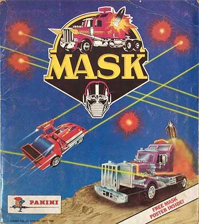 M.A.S.K. M.A.S.K. Panini Sticker album Singapore