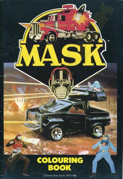 M.A.S.K. M.A.S.K. Coloring book Matt Trakker, Miles Mayhem & Jackhammer