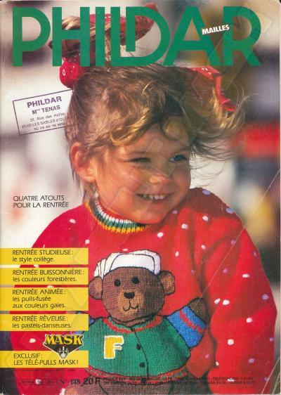 M.A.S.K. M.A.S.K. PHILDAR Kniting Magazine France