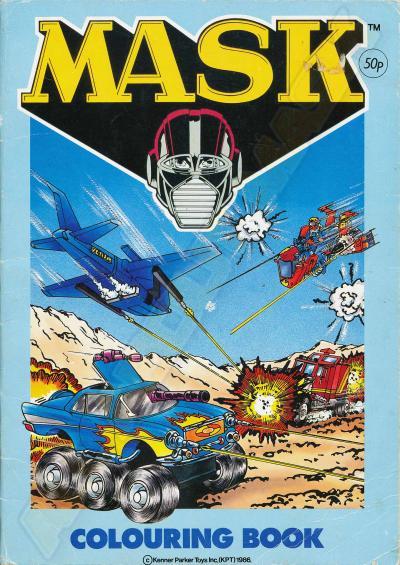 M.A.S.K. M.A.S.K. Coloring book Rhino, Hurricane, Switchblade & Vampire