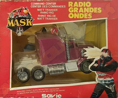 M.A.S.K. M.A.S.K. Rhino AM radio France