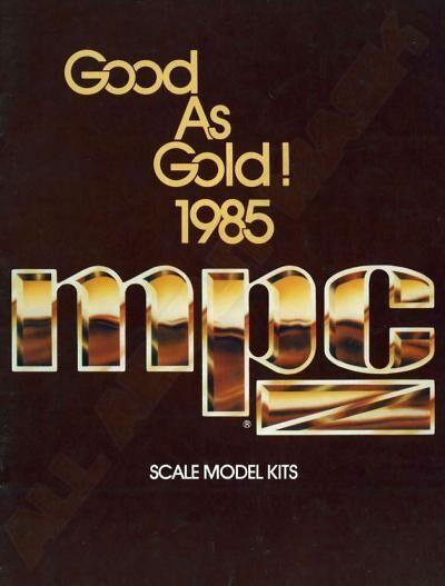 M.A.S.K. MPC Good as Goldcatalouge 1985