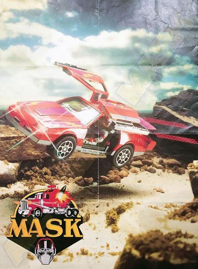 M.A.S.K. M.A.S.K. Benelux instore Poster