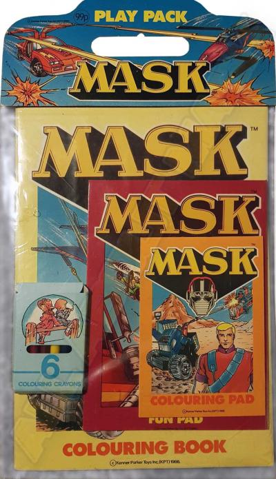 M.A.S.K. M.A.S.K. Coloring book set Play Pack